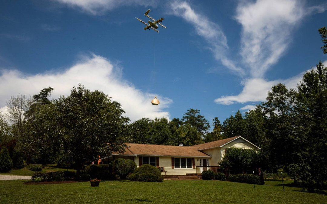Google recibe autorización de EE UU para hacer entregas con drones
